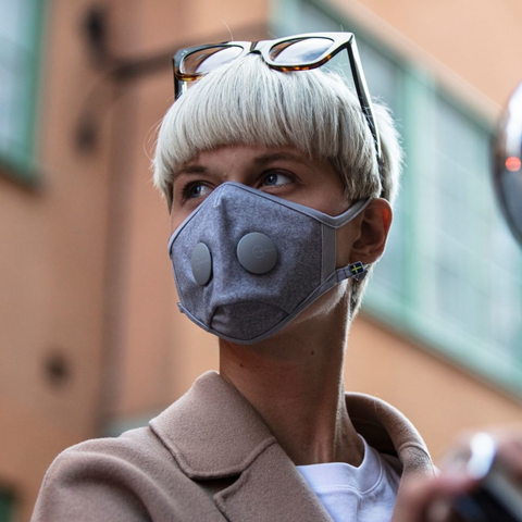 Airinum - Urban Air Mask 2.0 - quartz grey