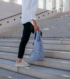 Notabag - Backpack & Handbag - Special Edition - Hello World - blue