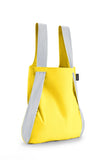 Notabag - Backpack & Handbag - Reflective Collection - yellow