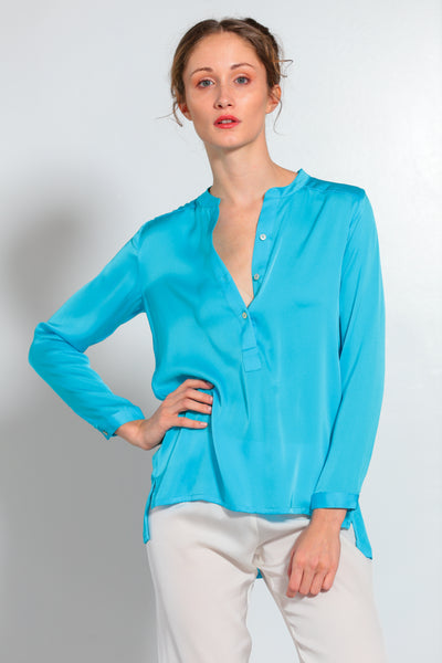 Montenegro Shirt Fountain Blue - Nouvelle