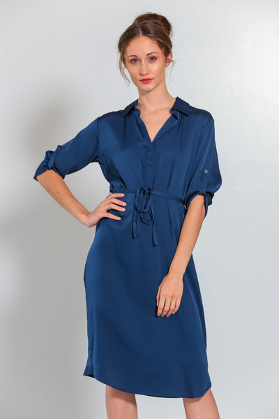 Fiji Dress Midnight Blue - Nouvelle