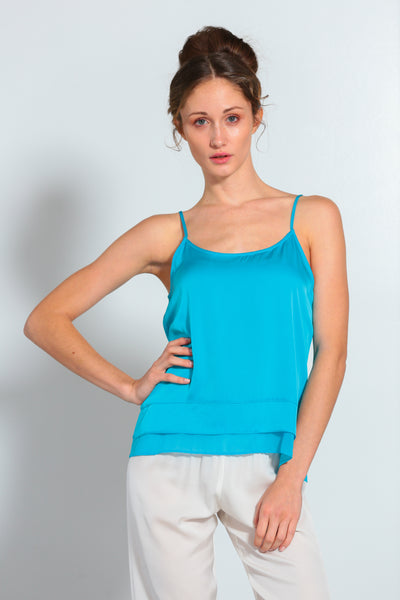 Zanzi Cami Fountain Blue