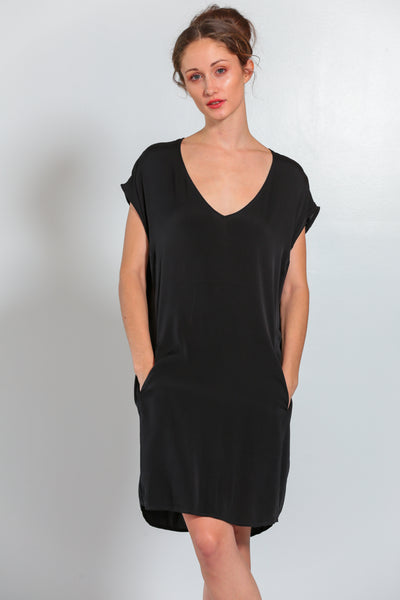 Athena Dress Noir - Nouvelle