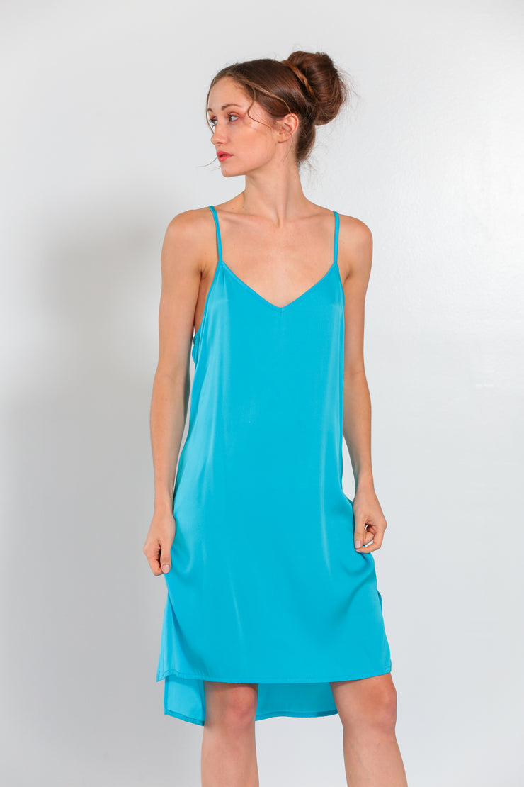 Mars Dress Fountain Blue - Nouvelle