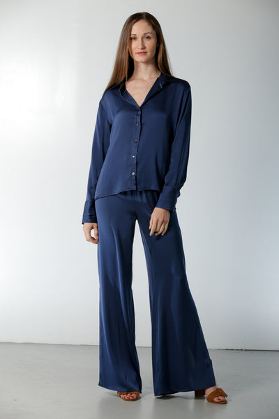 Oxford Shirt Midnight Blue - Nouvelle