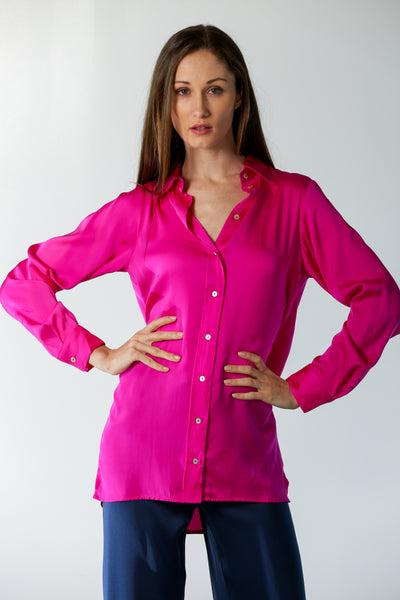 Chelsea Shirt Palm Beach Peony - Nouvelle