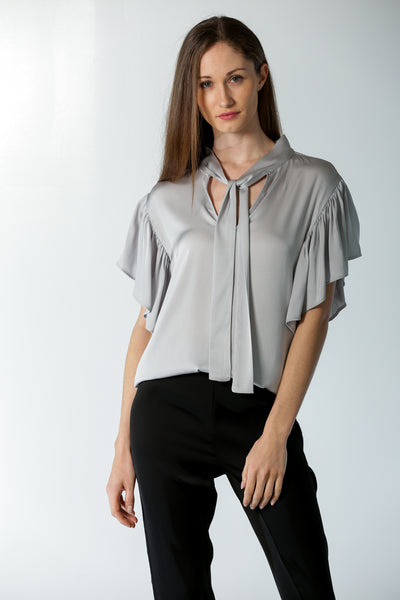 Milan Blouse Silver Lining - Nouvelle