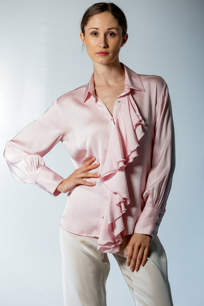 Bordeaux Blouse The Ave