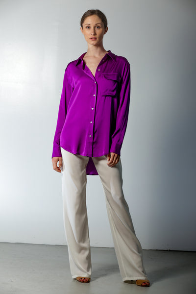 India Shirt Ultra Violet - Nouvelle