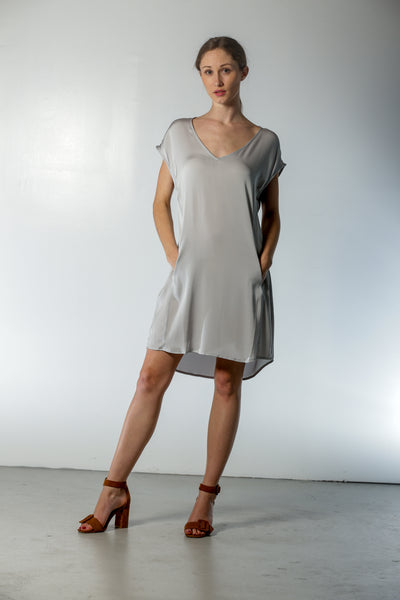 Athena Dress Silver Lining - Nouvelle
