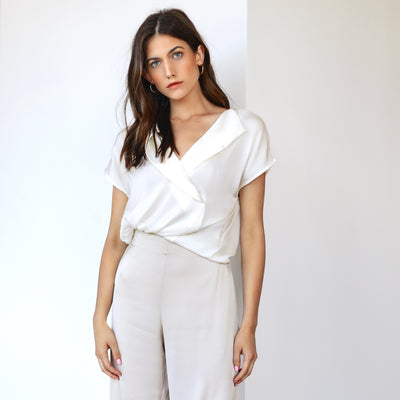 Antibes Top Nouvelle White
