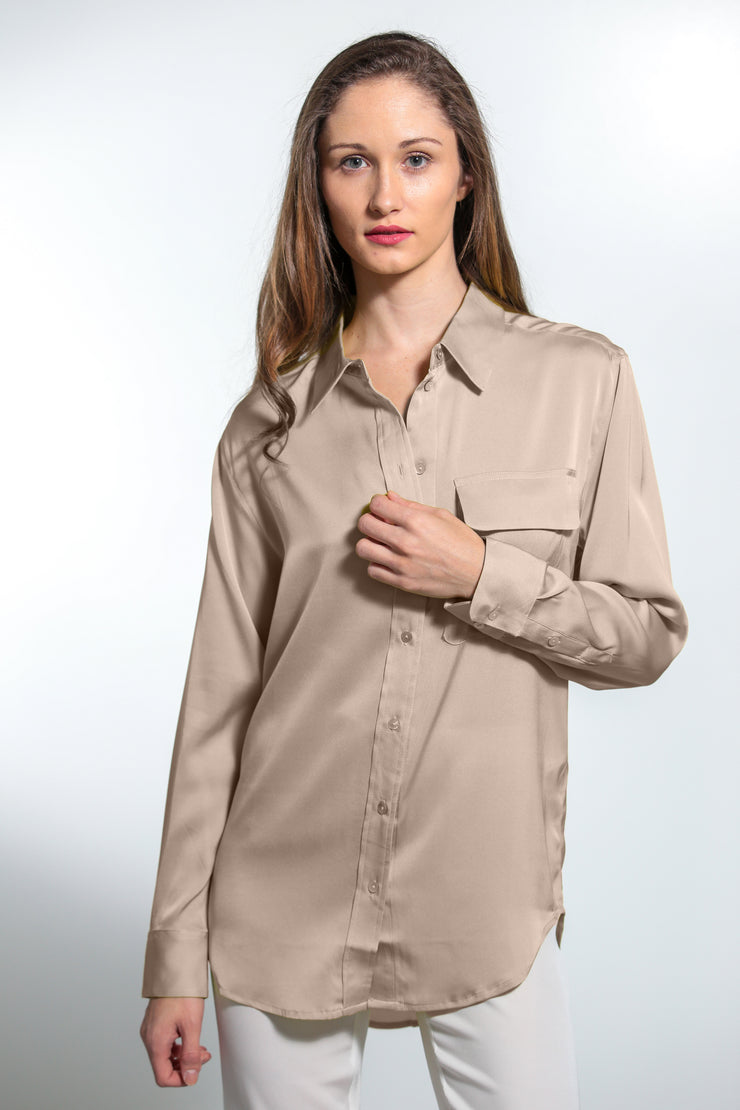 India Shirt Nude - Nouvelle