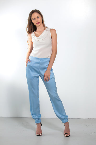 Mara Pants Faded Denim - Nouvelle