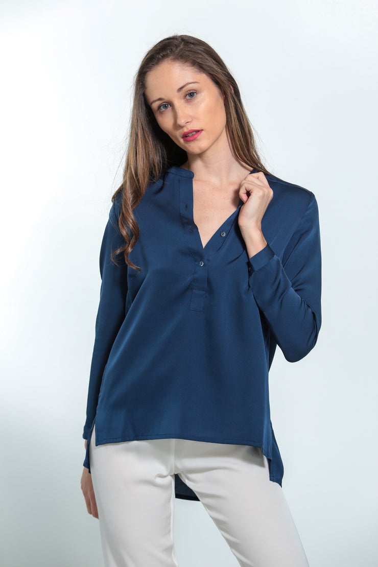 Montenegro Shirt Midnight Blue - Nouvelle