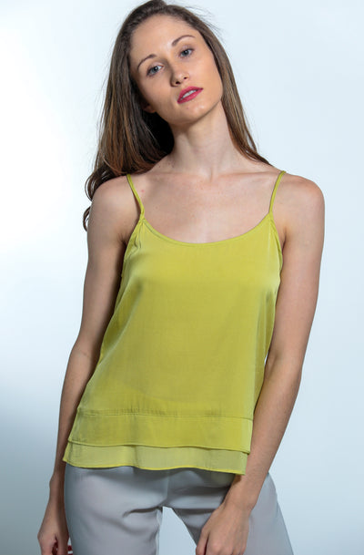 Cami-Jami Set Moss Cami and Silver Lining Jami - Nouvelle