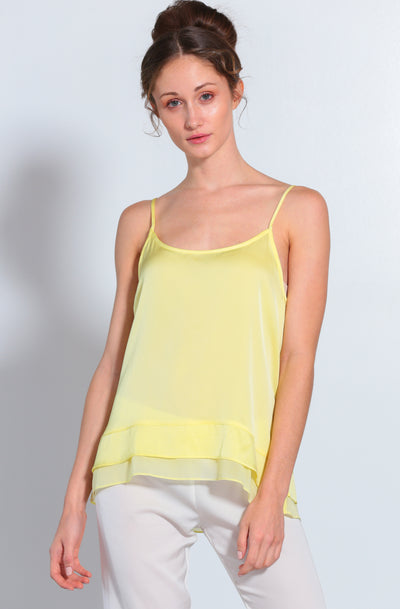 Cami-Jami Set Sunshine Cami and Nouvelle white Jami