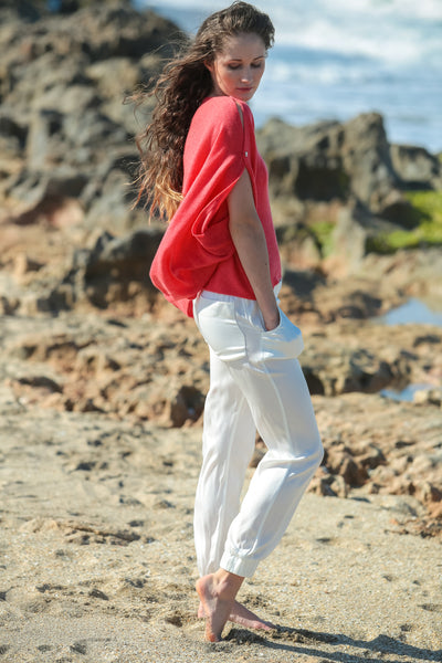Mara Pants Nouvelle White