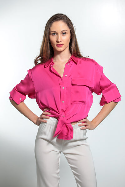 India Shirt Hibiscus - Nouvelle
