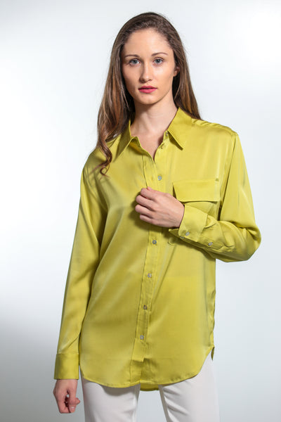 India Shirt Moss - Nouvelle