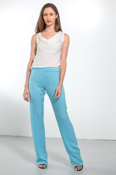 Pallazzo Pants Shore Blue