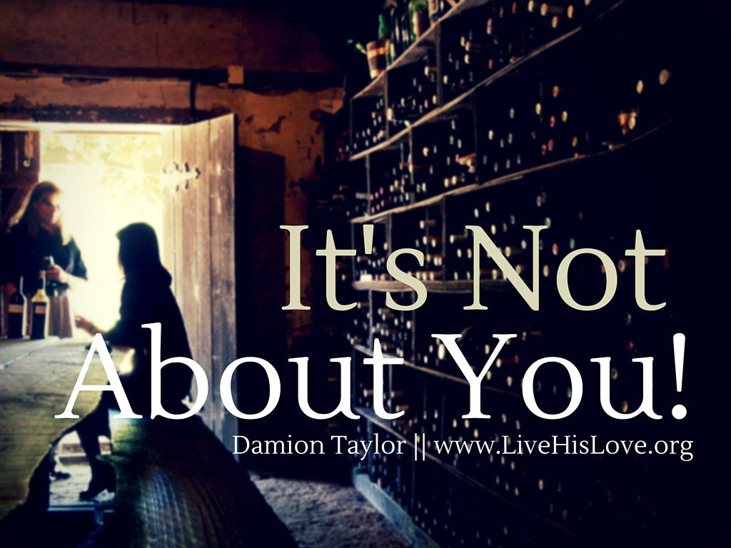It's Not About You! || The Struggle of Sin