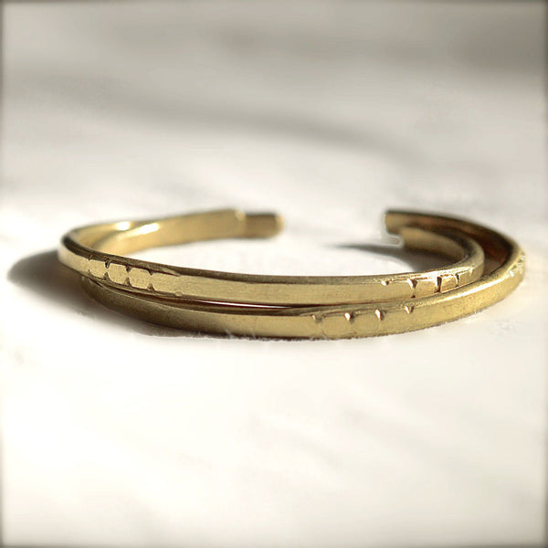 Bangle Set (2 bracelets) - LiveHisLove - Live His Love - 2