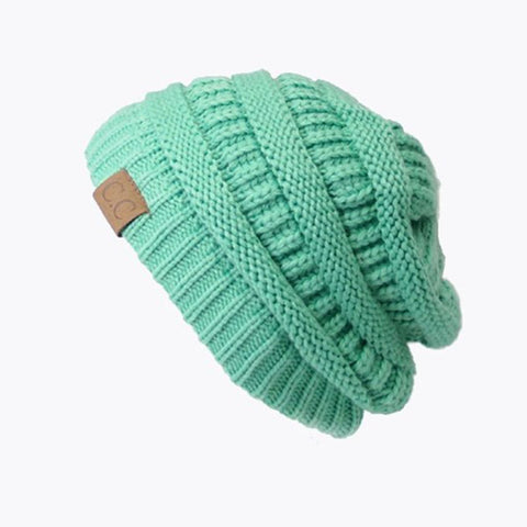 C.C. Knitted Beanie - LiveHisLove - Live His Love - 1