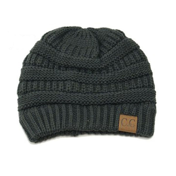 C.C. Knitted Beanie - LiveHisLove - Live His Love - 2