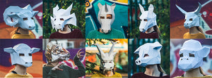 Halloween Papercraft Masks