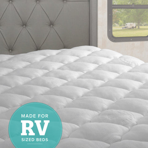 Extra Plush RV Size Mattress Pads