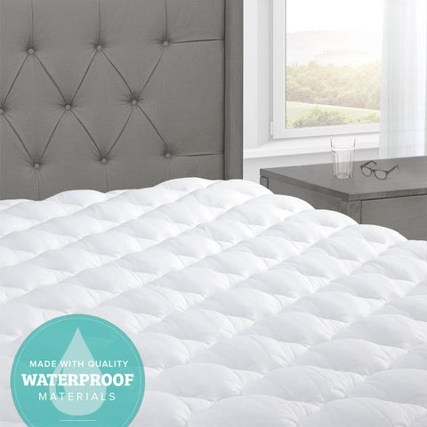 Comfort Mattress Pad with Waterproof Barrier