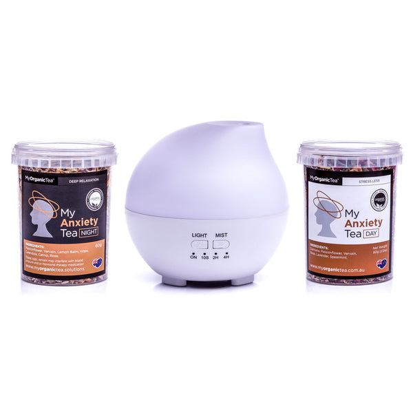 Anxiety Day/Night Tea & humidifer pack