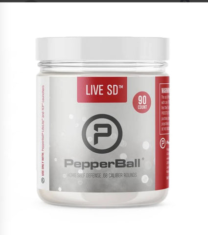 PepperBall LIVE SD 90pk