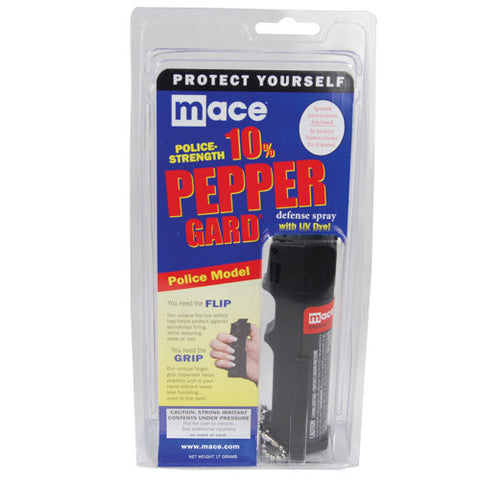 MACE® 10% Pepper Gard Police Model - Personal Safety Products Plus  - 1