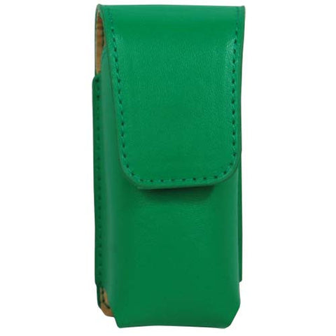 Deluxe Green Leatherette Holster for the Li'L Guy Stun Gun - Personal Safety Products Plus  - 1