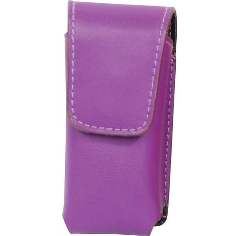 Deluxe Purple Leatherette Holster for the Li'L Guy Stun Gun - Personal Safety Products Plus  - 1