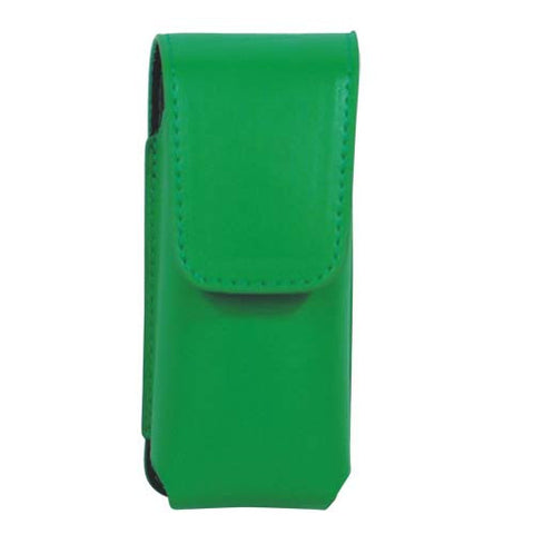 Deluxe Green Leatherette RUNT or TRIGGER Stun Gun Holster - Personal Safety Products Plus  - 1