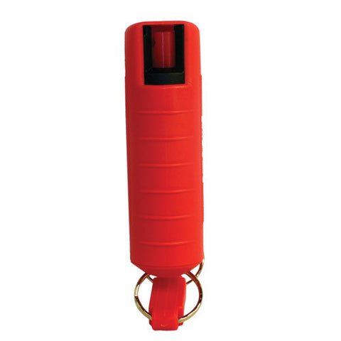 Pepper Shot™ 1/2 oz. w/Quick Release - Poly Red - Personal Safety Products Plus