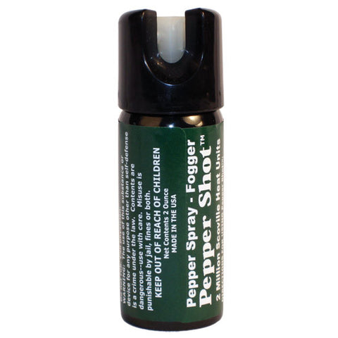 Pepper Shot™ 2 oz. Pepper Spray - Fogger - Personal Safety Products Plus  - 1