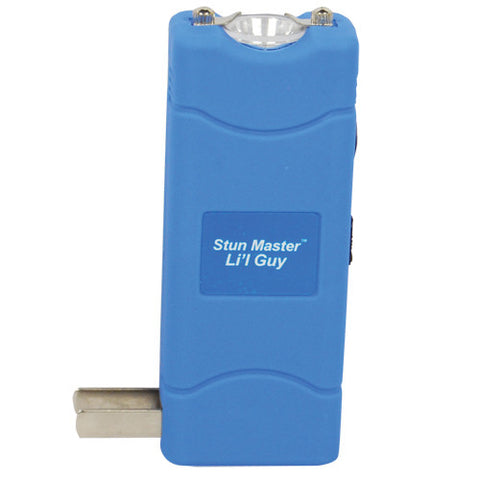 Stun Master™ Li'l Guy 12 Million Volt Blue Stun Gun - Personal Safety Products Plus  - 3