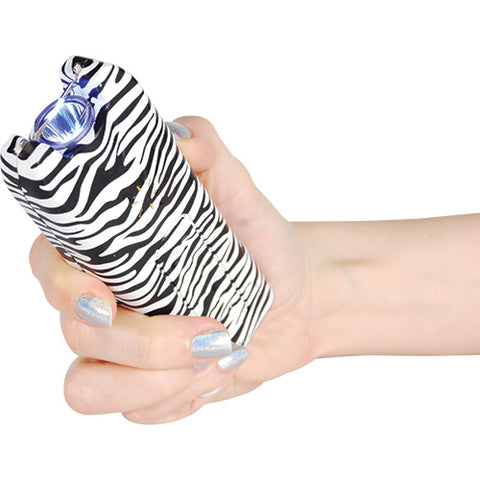 20 Million Volt Zebra MULTIGUARD Stun Gun Alarm & Flashlight