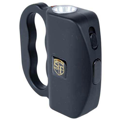 Safety Technology 18 Million Volt Black TALON Stun Gun Flashlight - On Sale!