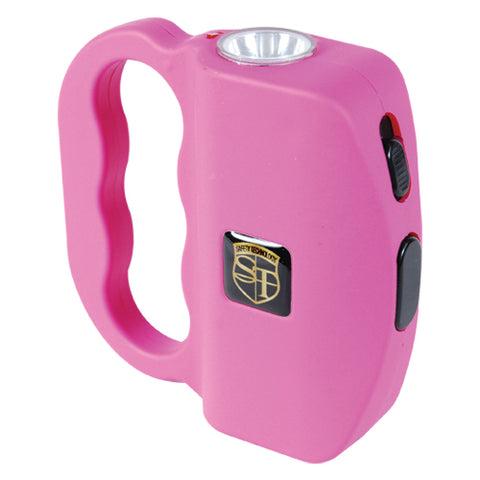 Safety Technology 18 Million Volt Pink TALON Stun Gun Flashlight - On Sale!