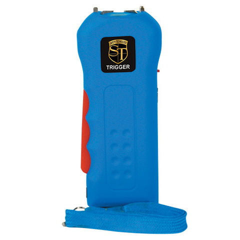 Safety Technology 18 Million Volt Blue TRIGGER Stun Gun - Personal Safety Products Plus  - 1