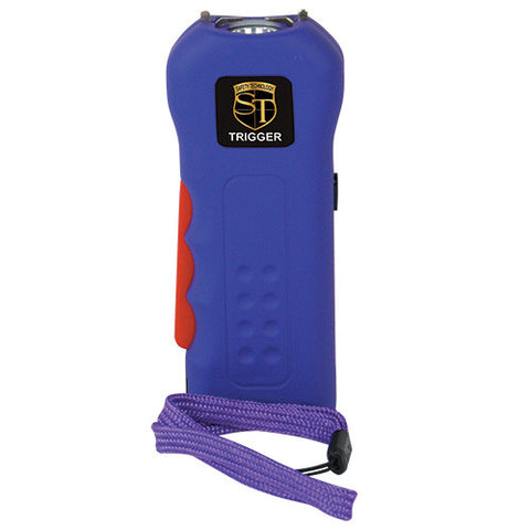 Safety Technology  18 Million Volt Purple TRIGGER Stun Gun - Personal Safety Products Plus  - 1
