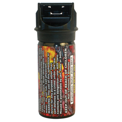 Wildfire18% Pepper Gel 2 oz. Pepper Spray w/Flip Top Actuator - Personal Safety Products Plus  - 1