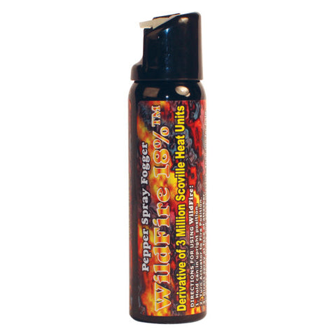 WildFire 4 oz. Pepper Spray- Fogger - Personal Safety Products Plus  - 1