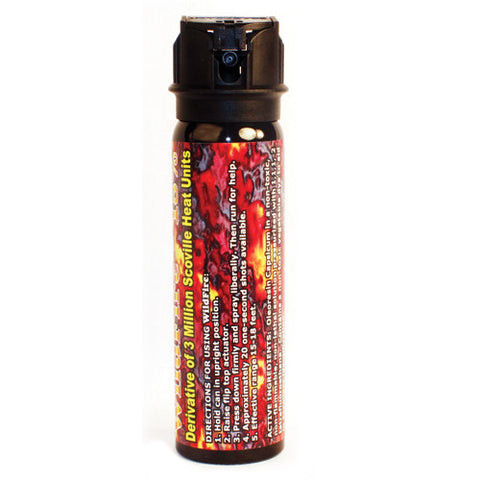 Wildfire 18% Pepper Gel Spray w/Flip Top Actuator- 4oz. - Personal Safety Products Plus  - 1