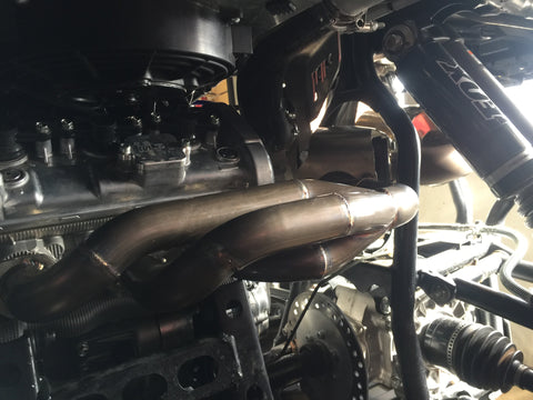 Shorty Turbo Header '16-UP YAMAHA YXZ1000 R / SS – Hess
