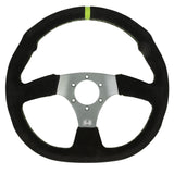 D-Shaped Steering Wheel - 6 Bolt - Hess Motorsports